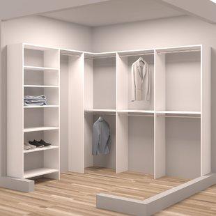 Walk-In Closet Systems You'll Love | Wayfair