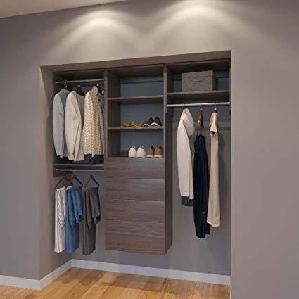 Amazon.com: Modular Closets 6 FT Closet Organizer System - 72 inch
