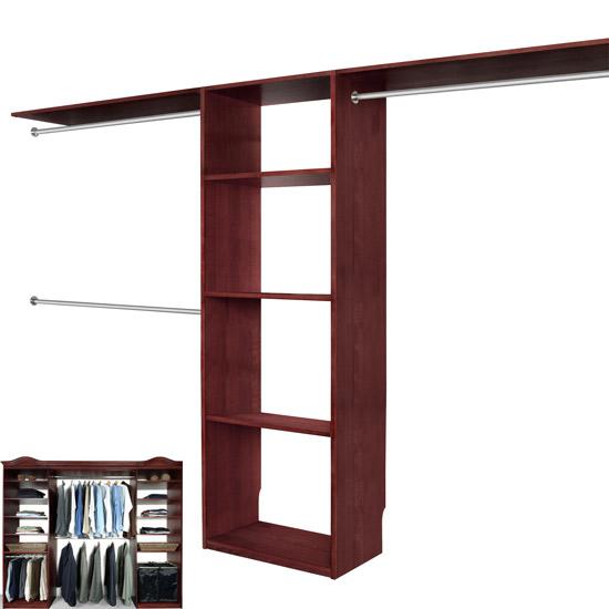 Solid wood closets: Walk In Closet Organizer System CHERRY, Walk In