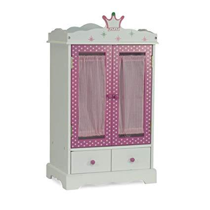 Amazon.com: 18 Inch Doll Closet Wish Crown | Doll Clothes Storage
