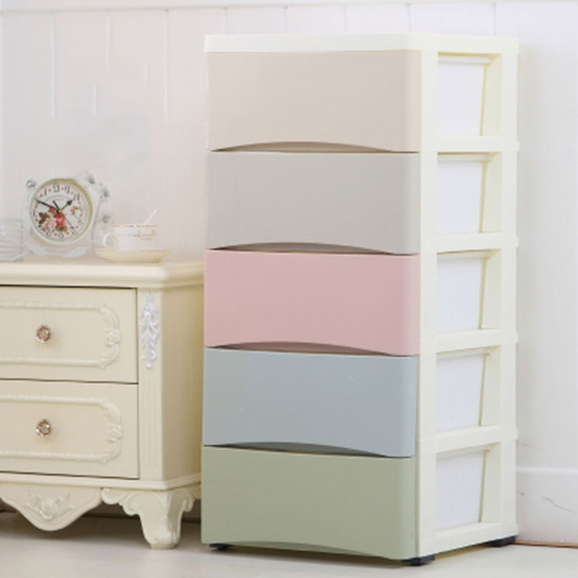 Minimalist Children Clothes Storage Cabinet Household Combination