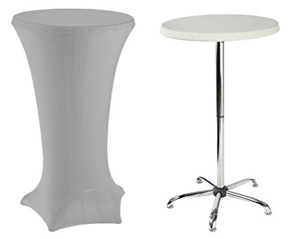 Amazon.com : Tall Cocktail Tables Include (1) 47
