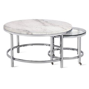 Vincente Coffee Table - Set Of 2   Hampstead Vincente Living Room