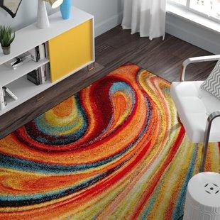 Round Multi Color Rug | Wayfair
