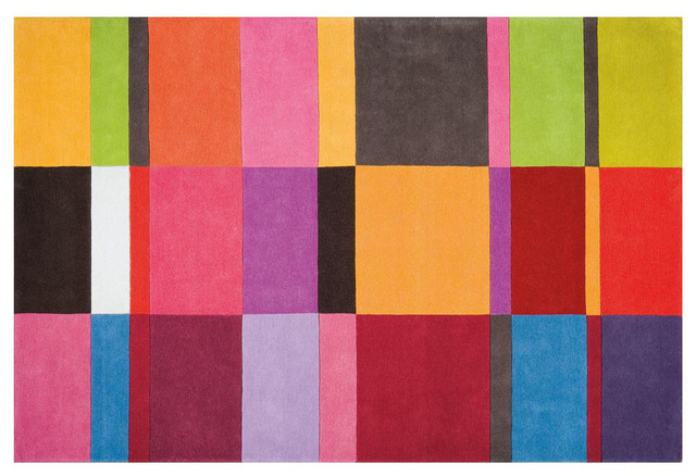 Colorful Rug - Modern - Rugs - Los Angeles - by Viesso