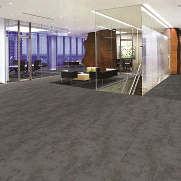 China Rubber Backing Commercial Carpet Tiles for Home on Global Sources