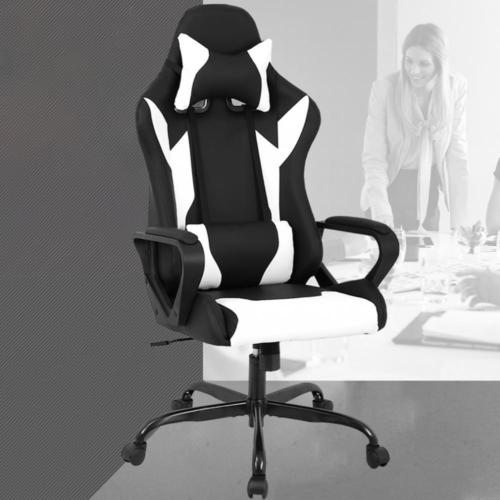 Factory Direct: Racing Office Chair, High-Back PU Leather Gaming