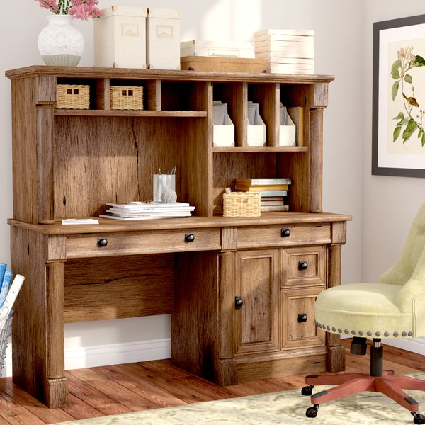 Get a Computer Desk with Hutch   for Pain-free Computer Work