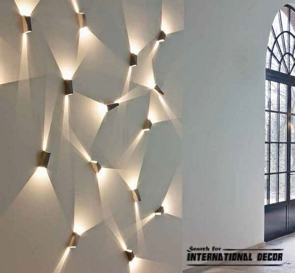CONTEMPORARY LIGHTING IDEAS | Contemporary wall lights, lighting