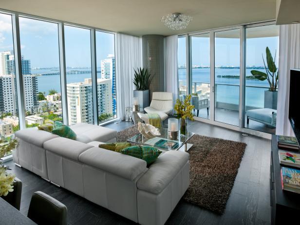 Contemporary Living Room Decorating Ideas & Design | HGTV