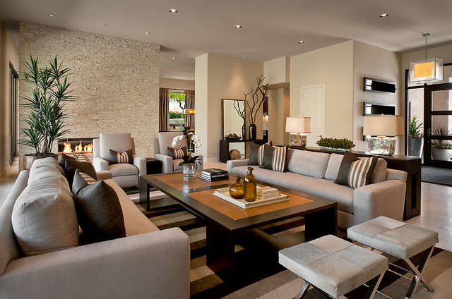 Ownby Design - Contemporary - Living Room - Phoenix - by Ownby Design