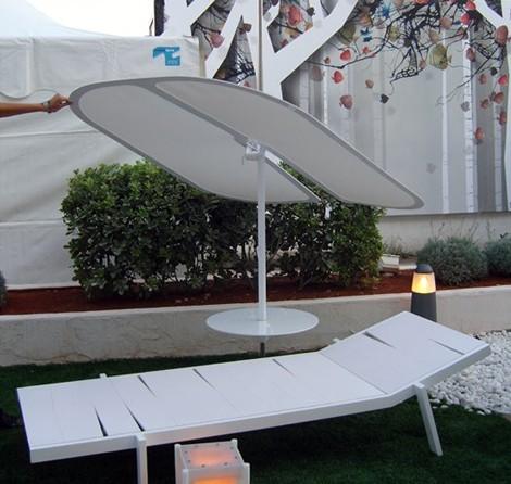 Modern Patio Umbrellas - Nenufar contemporary parasols by Samoa Design