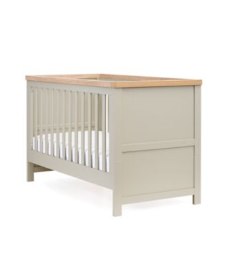 mothercare lulworth cot bed - grey | cot beds | Mothercare