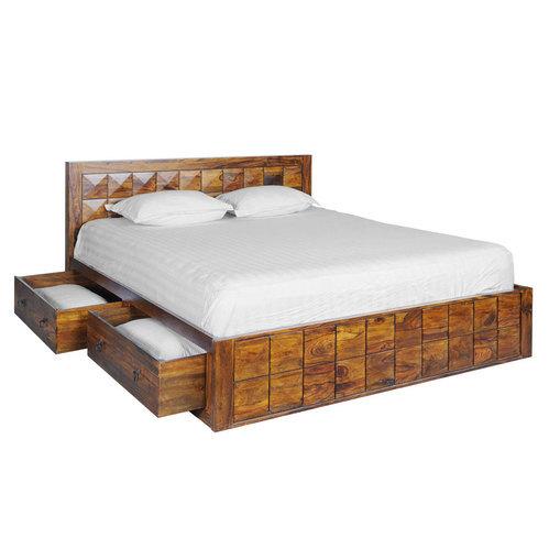 206 X 168 X 90 Cm Wooden Box Cot Bed, Rs 63000 /piece, Gunjan