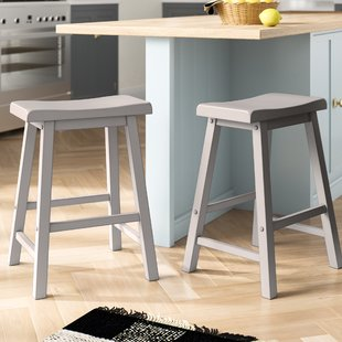 Renate Grey Counter Stools | Wayfair