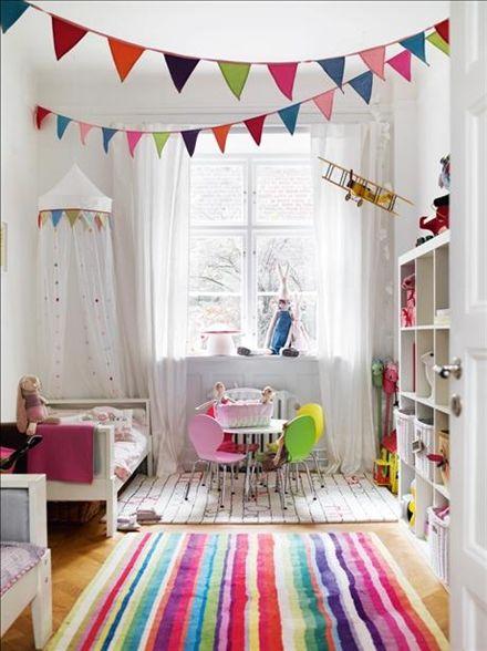 Färgsprakande barnrum | Beautiful images that make us smile