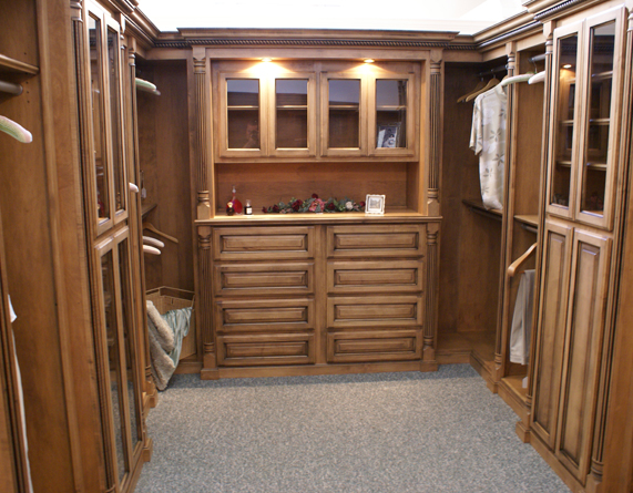Custom closet systems for   modern bedrooms