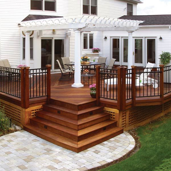 20 Beautiful Wooden Deck Ideas For Your Home | BHG's Best Home Decor