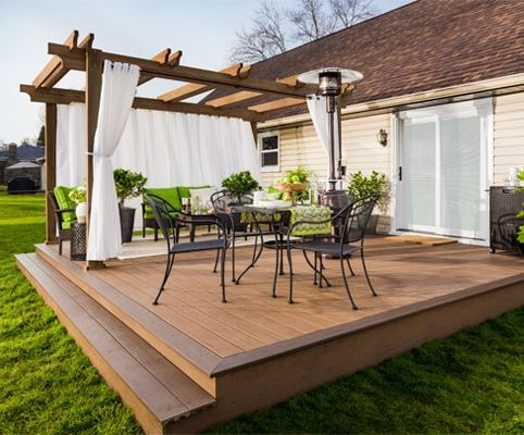 30+ Best Small Deck Ideas: Decorating, Remodel & Photos | Backyard