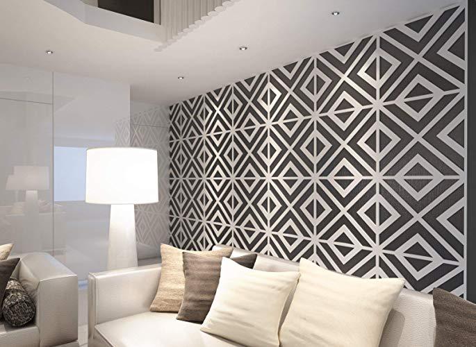 Amazon.com: HomeArtDecor, Geometric Wall Art, 3D Wall Panels, Wall