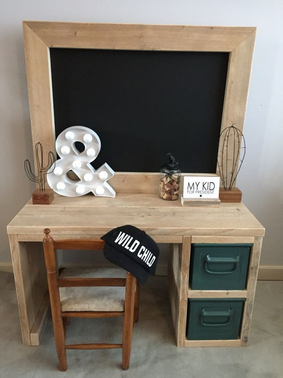 Wood Building Projects   Diy Kids Furniture   Pinterest   Kid desk