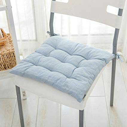 Amazon.com: Chair Pads Cotton and Linen Soft Chair Cushion Dining