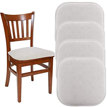 Amazon.com: DreamHome (Set of 4) Nonslip Chair Pads for Dining