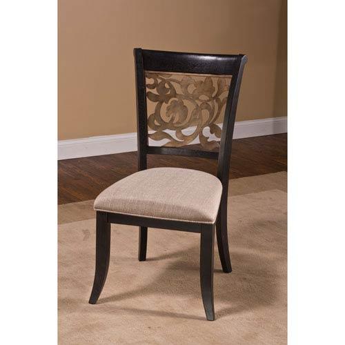 Hillsdale Furniture Bennington Black Dining Chair, Set Of 2 5559 802
