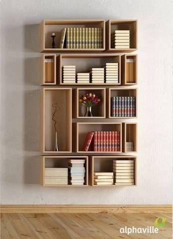 45 DIY Bookshelves: Home Project Ideas That Work | Shelves