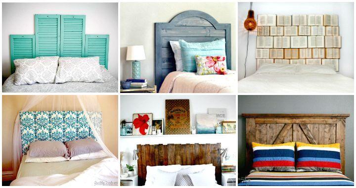 78 Superb DIY Headboard Ideas for Your Beautiful Room - DIY & Crafts