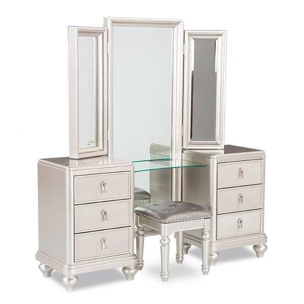 Diva Vanity Dresser Mirror Set | 8808-VANITY | SAMUEL LAWRENCE | AFW.com