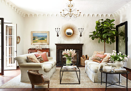 Decorating Ideas: Elegant Living Rooms   Traditional Home