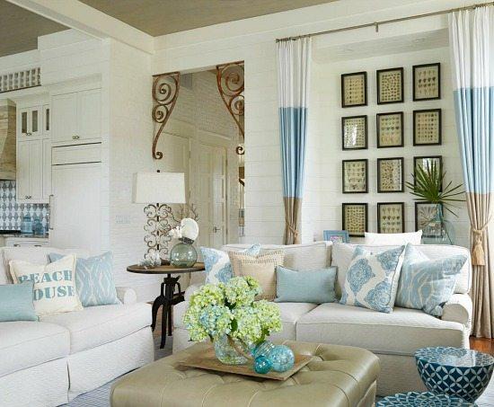 Elegant Home that Abounds with Beach House Decor Ideas - Beach Bliss