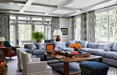 Home Decor Ideas - Stylish Family Rooms - Architectural Digest