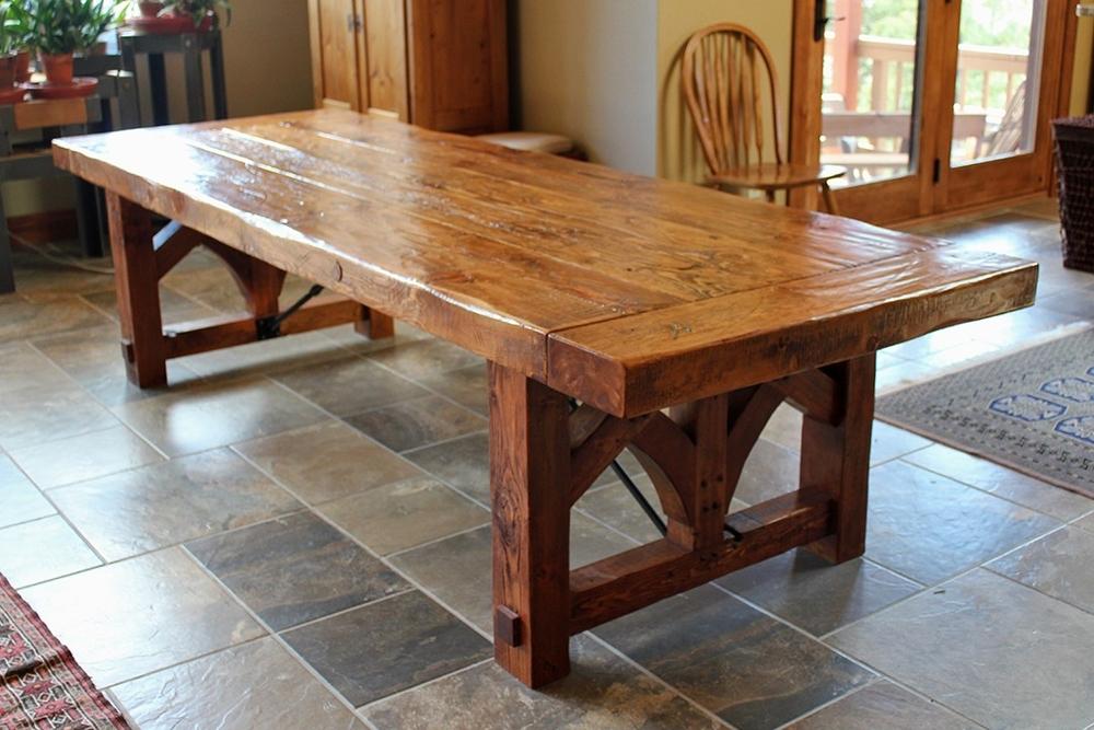 Cedar Farmhouse Table u2014 Innovative Craftsman