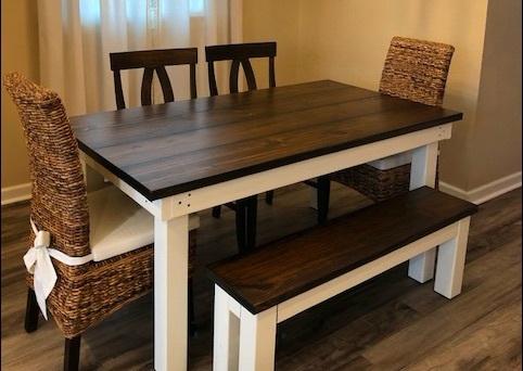 Farmhouse Table: Beautiful and   Tough