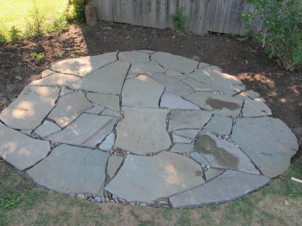 Learn About Installing Finishing Touches for a Flagstone Patio | DIY