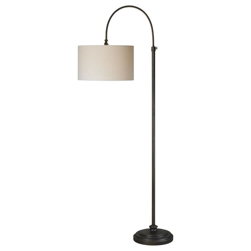 Forty West Reagan Oil Rubbed Bronze One Light Floor Lamp 70003 1