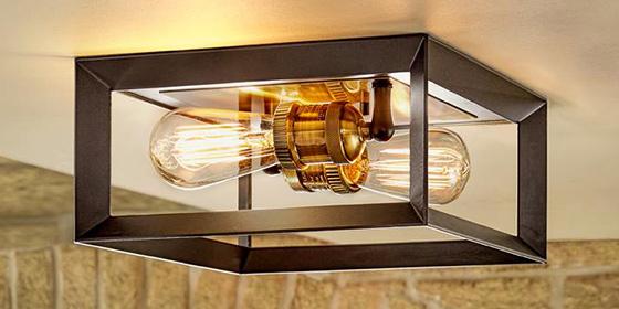 Flush Mount Lighting & Semi-Flush Mount Lighting