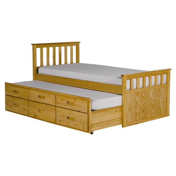 All Home Pajama Guest Bed with Trundle & Reviews   Wayfair.co.uk