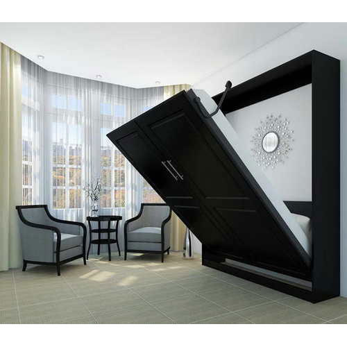 Designer Wall Folding Bed, Murphy Beds, Wall Mount Bed With Front
