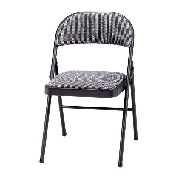 Meco Deluxe Fabric Padded Folding Chair & Reviews   Wayfair
