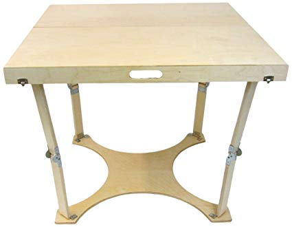 Amazon.com: Spiderlegs Folding Dining Table, 36-Inch, Natural Birch