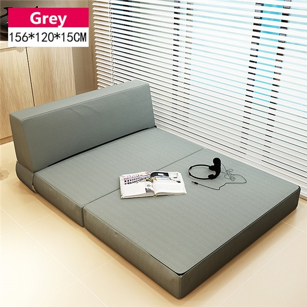 Foam Folding Mattress and Sofa Bed with Removable Cover Bedroom