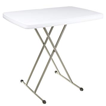 Amazon.com: Everyday Home Folding Table, Foldable Table and TV Tray