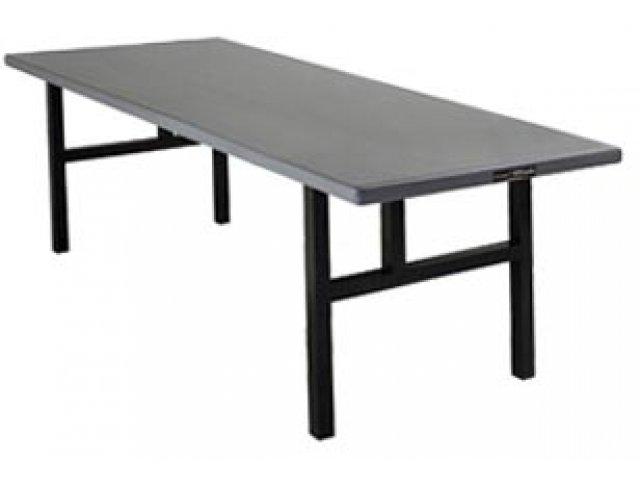 Aluminum Rectangular Folding Table - H Legs 60