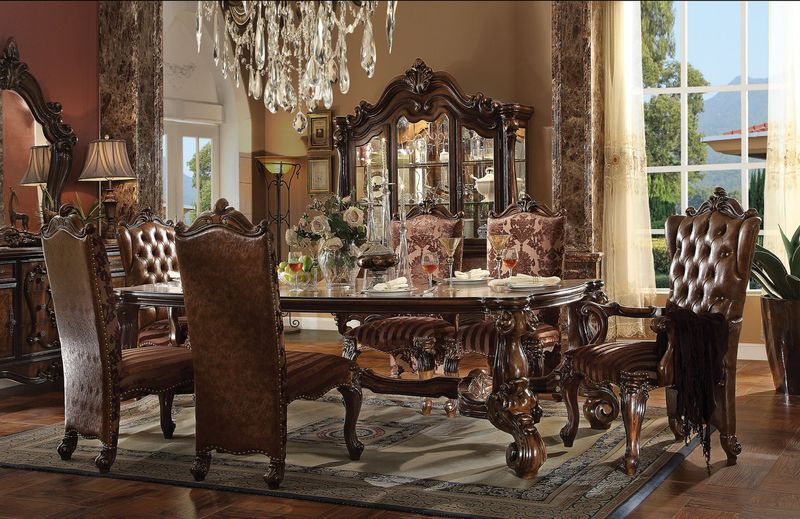 Acme | 61115 Versailles Formal Dining Room Set in Cherry | Dallas