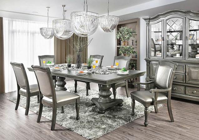 Alpena 7 Piece Formal Dining Room Set | Furniture of America CM3350T