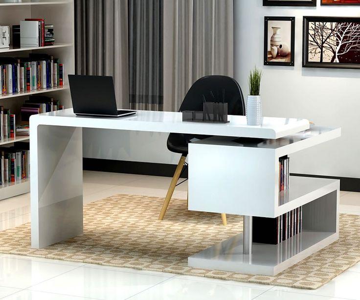 Decoration Alluring Small White Office Desk 4 Pretty 8 Home Desks