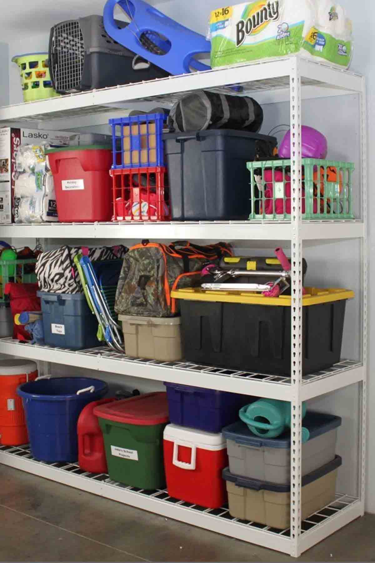 20 Garage Organization Ideas - Storage Solutions and Tips for
